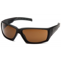 Bronze H2X Anti-Fog Lens with Black Frame