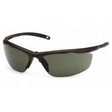 Forest Gray Anti-Fog Lens with Bronze Frame