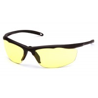 Yellow Anti-Fog Lens with Bronze Frame