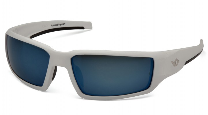 Ice Blue Polarized Lens with White Frame