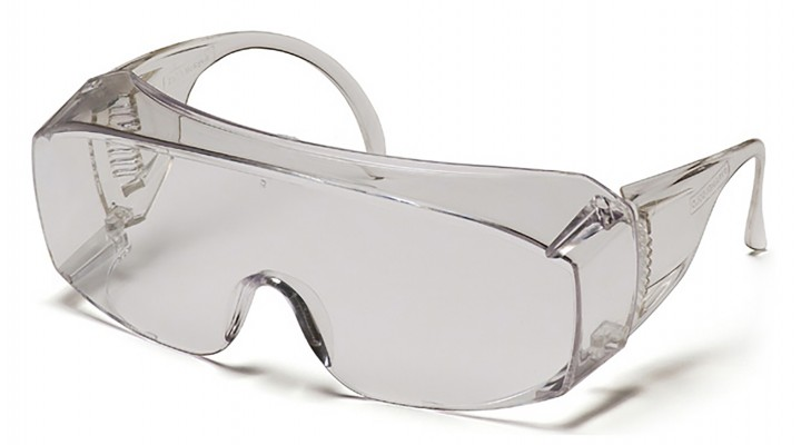 Jumbo Size Clear Lens and Frame Combination