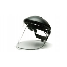 Aluminum Bound Polycarbonate Face Shield