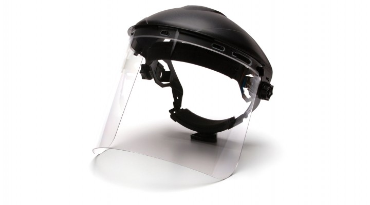 Cylinder Polycarbonate Face Shield
