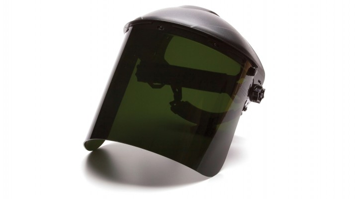 Cylinder IR5 Polycarbonate Face Shield