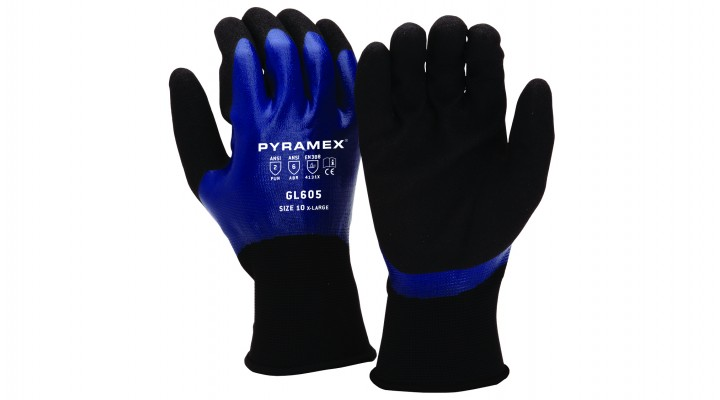Sandy & Smooth Nitrile Gloves (GL605 Series)