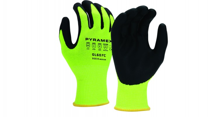 Micro-Foam Nitrile Gloves (GL607C Series)