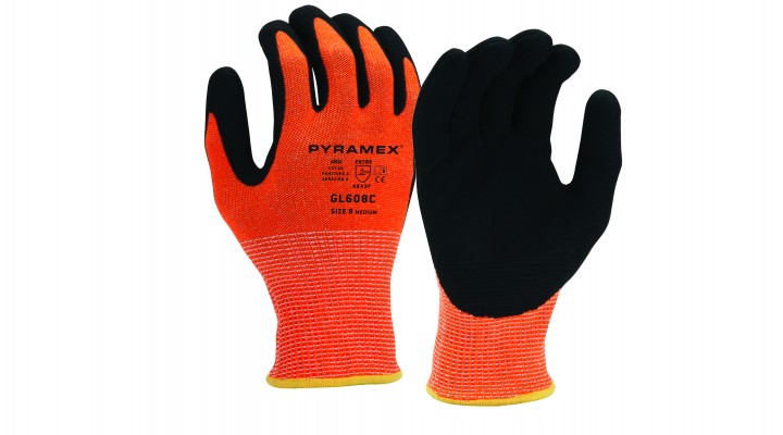 Sandy Nitrile Gloves (GL608C Series)