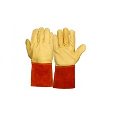 Grain + Split Cowhide Leather Welding Glove (GL6001W Series)