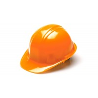 Hi Vis Orange Cap Style 4-Point Ratchet