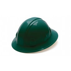 Green Full Brim Style 4-Point Ratchet