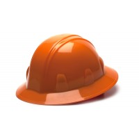 Orange Full Brim Style 4-Point Ratchet