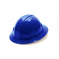 Blue Full Brim Style 4-Point Ratchet