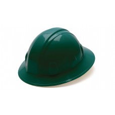 Green Full Brim Style 6-Point Ratchet
