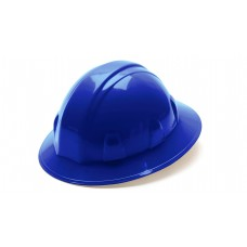 Blue Full Brim Style 6-Point Ratchet