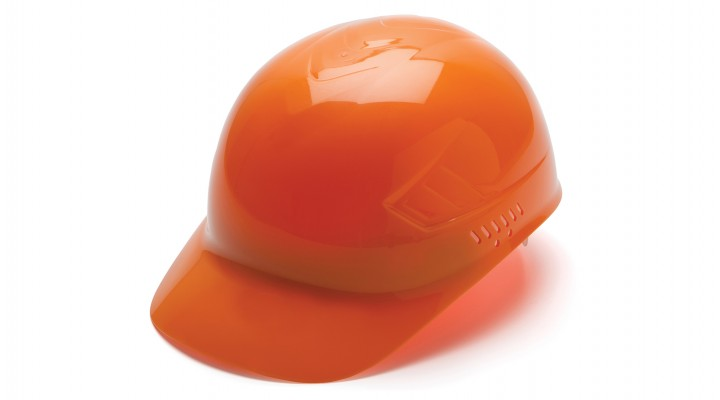 Hi-vis Orange Bump Cap 4-Point Glide Lock