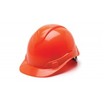 Hi Vis Orange Cap Style 4-Point Standard Ratchet