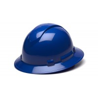 Blue Full Brim Style 6-Point Standard Ratchet