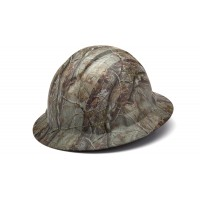 Matte Camo Pattern Full Brim Style 4-Point Standard Ratchet