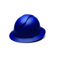 Matte Blue Graphite Pattern Full Brim Style 4-Point Standard Ratchet