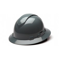 Slate Gray Full Brim Style 4-Point Vented Ratchet