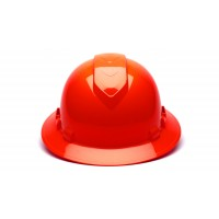 Hi Vis Orange Full Brim Style 4-Point Vented Ratchet