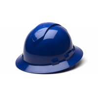 Blue Full Brim Style 4-Point Vented Ratchet