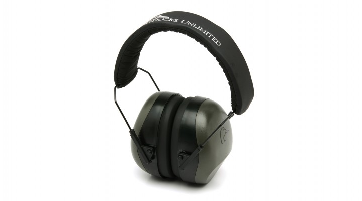 Gray Ducks Unlimited Earmuff