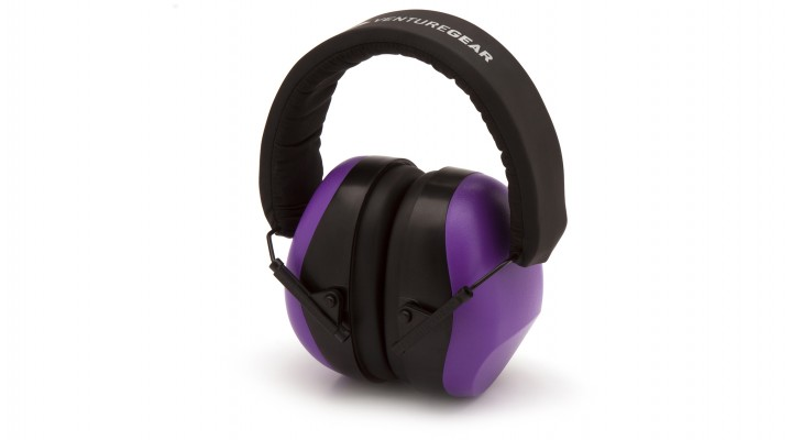 Purple Earmuff – Clamshell