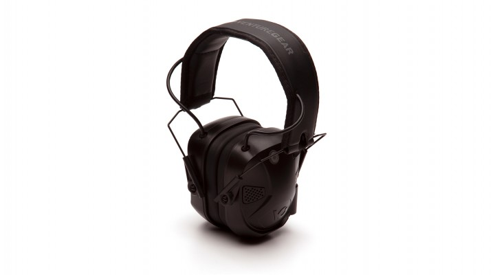 Electronic Earmuff with Bluetooth - Black