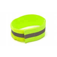 Reflective Arm Band - Hi-vis Lime