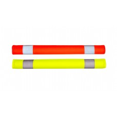Seat Belt Cover - Hi-vis Lime