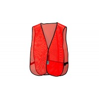 Non-Rated Value Vest - Hi-vis Orange