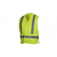 Type R - Class 2 Non FR Self Extinguishing Hi Vis Lime Safety Vest