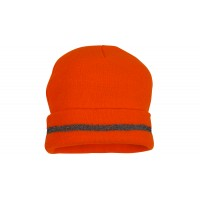 Non-rated Hi-Vis Orange Knit Cap