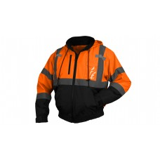 Type R - Class 3 Hi-Vis Orange Jacket