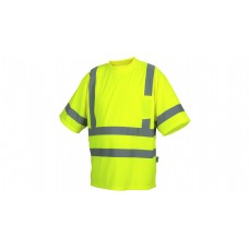 Type R - Class 3 Hi-Vis Lime T-Shirt with Heat Sealed Tape