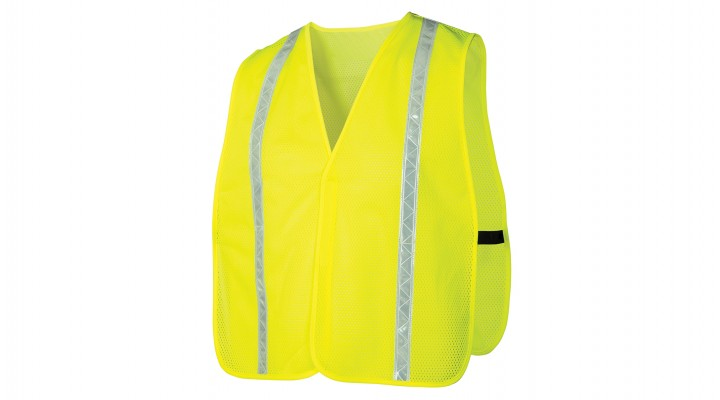 Non-rated Vest - Hi-vis Lime