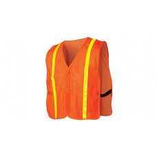 Non-Rated Hi Vis Orange Safety Vest
