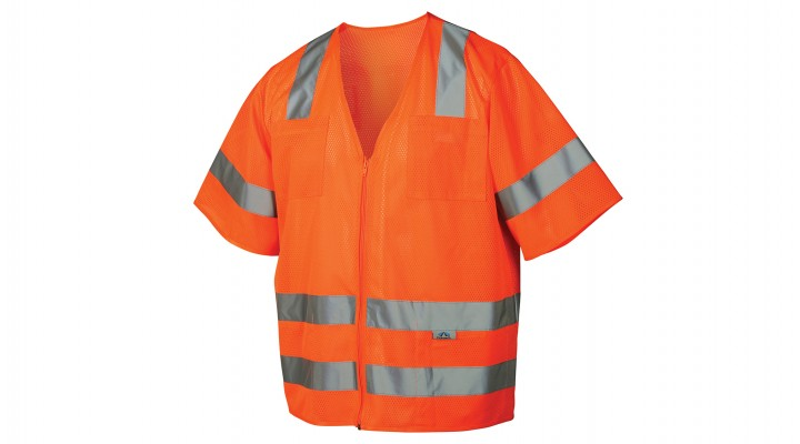 Type R - Class 3 Hi-Vis Orange Safety Vest