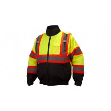 Hi-Vis Lime Jacket