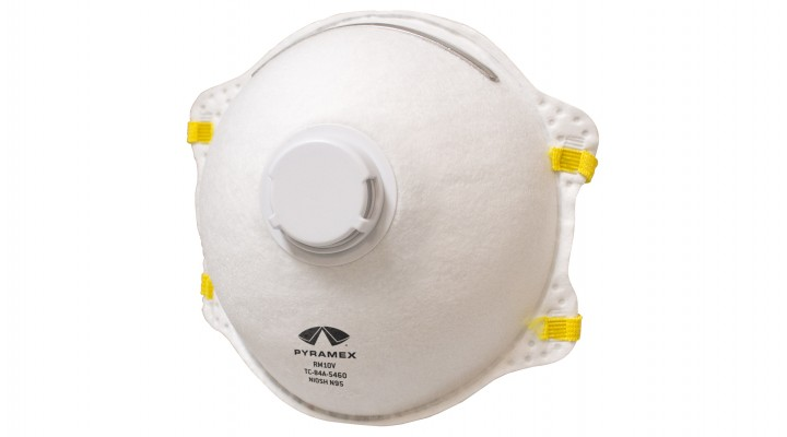 N95 Cone Respirator with Exhalation Valve