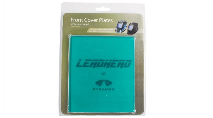 Front Cover Plate - WHAM30 and WHAD60 helmets only - 5 pack