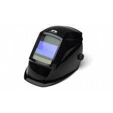 Glossy Black Auto Darkening Helmet with Digital Controls